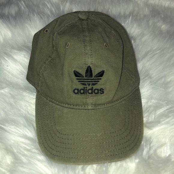efcf3ef1da6 adidas Accessories - Adidas Olive Baseball Hat